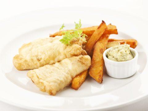 Fish and Chips turskasta | Reseptit | Hätälä Oy