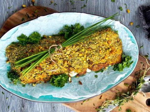 Yrttikuorrutettu turska sitruunalla | Reseptit | Hätälä Oy