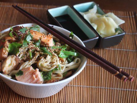 Lohiwokki aasialaisittain | Reseptit | Hätälä Oy
