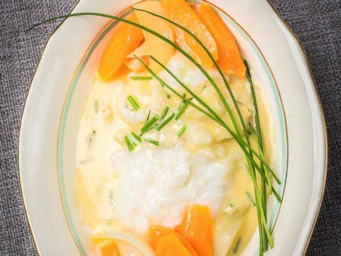 Lipeäkala hollandaisekastikkeella | Reseptit | Hätälä Oy
