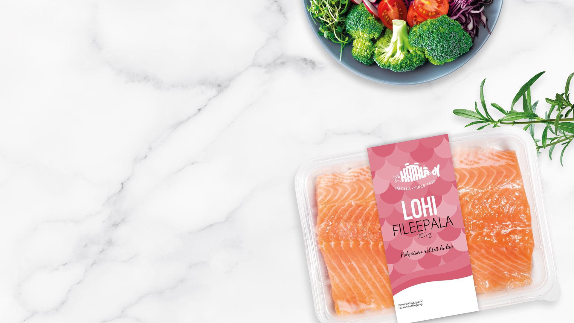 Lohifileepala | Kalatuotteet | Hätälä