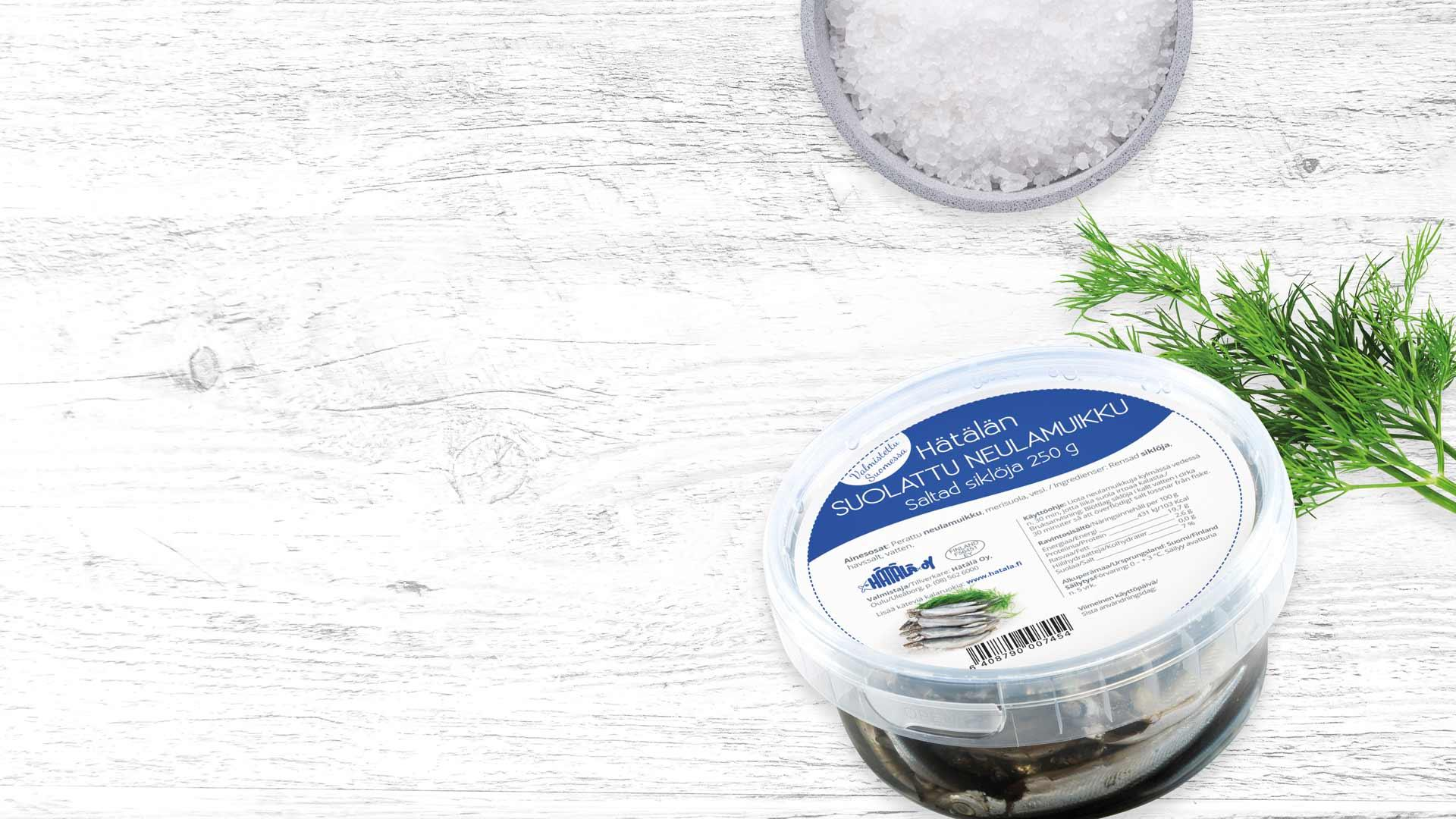 Suolattu neulamuikku | Kalatuotteet | Hätälä