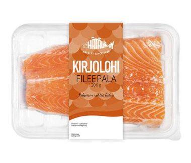 Kirjolohi fileepala tuotekuva | Kalatuotteet | Hätälä