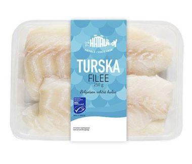 MSC-sertifioitu tuore turska fileenä tuotekuva | Kalatuotteet | Hätälä