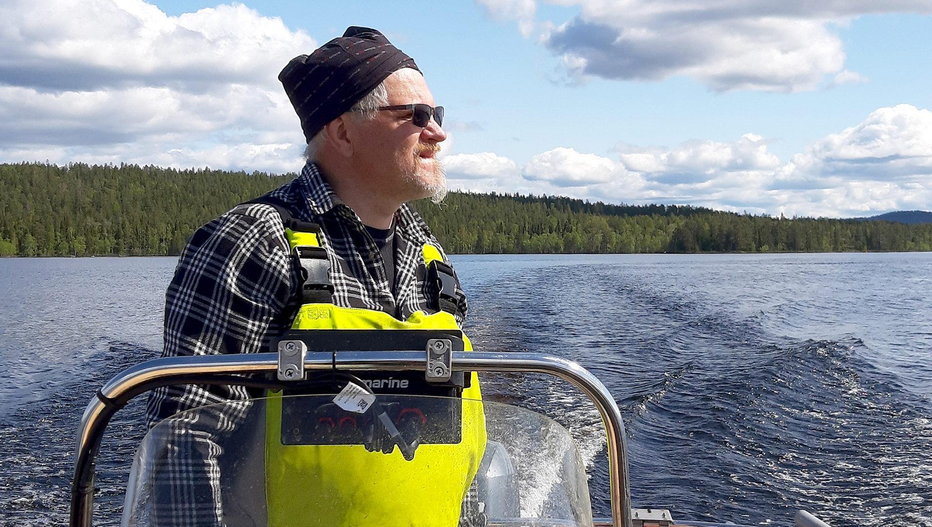 Kalastaja Jukka Sirkkala | Kalastajalle kiitos | Hätälä