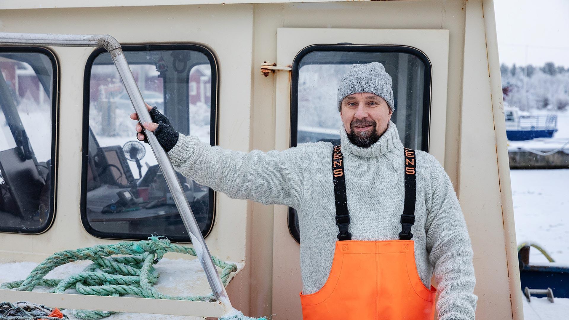 Kalastaja Lauri Halonen | Hätälä