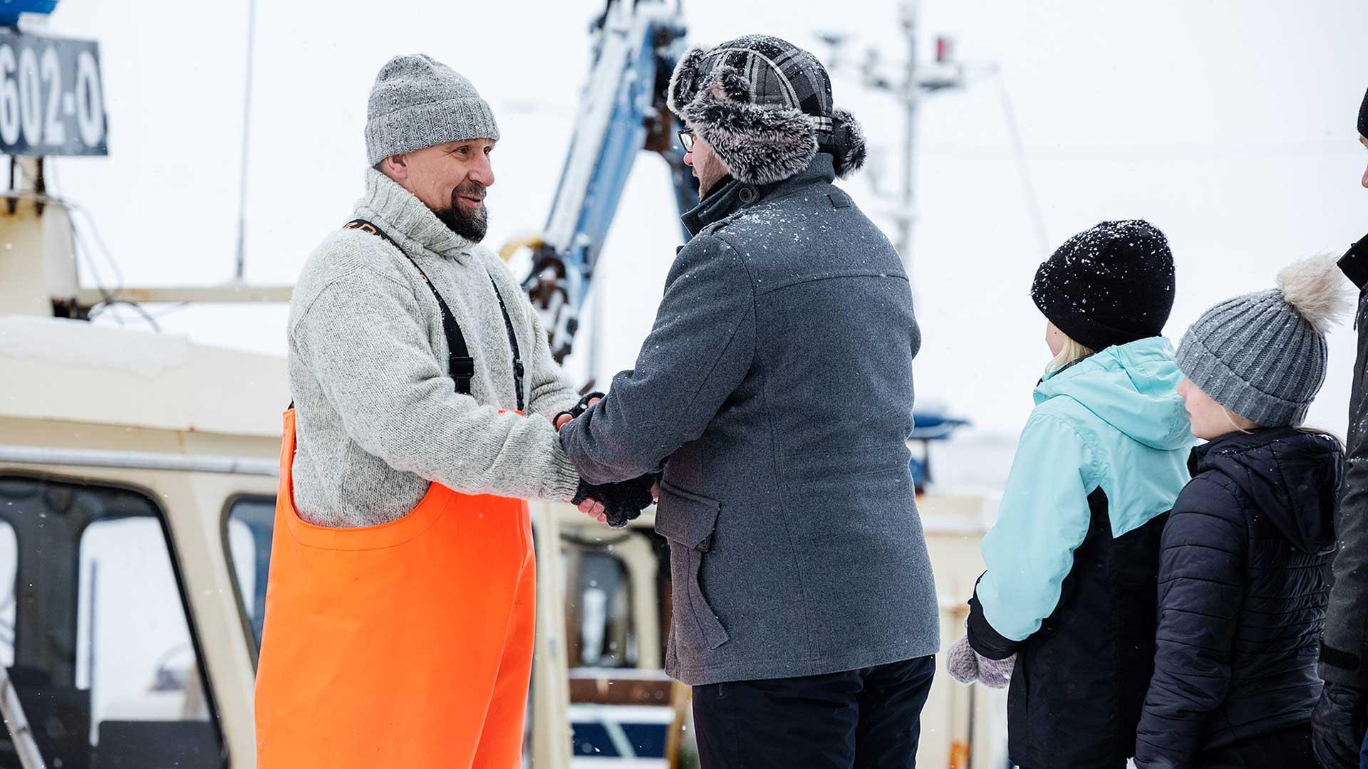 Kalastajalle kiitos | Hätälä
