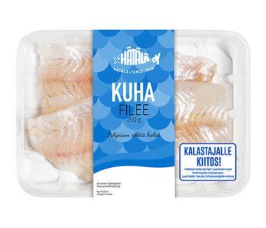Kotimainen Kuhafilee 250g pakkauksessa | Kalastajalle kiitos | Hätälä