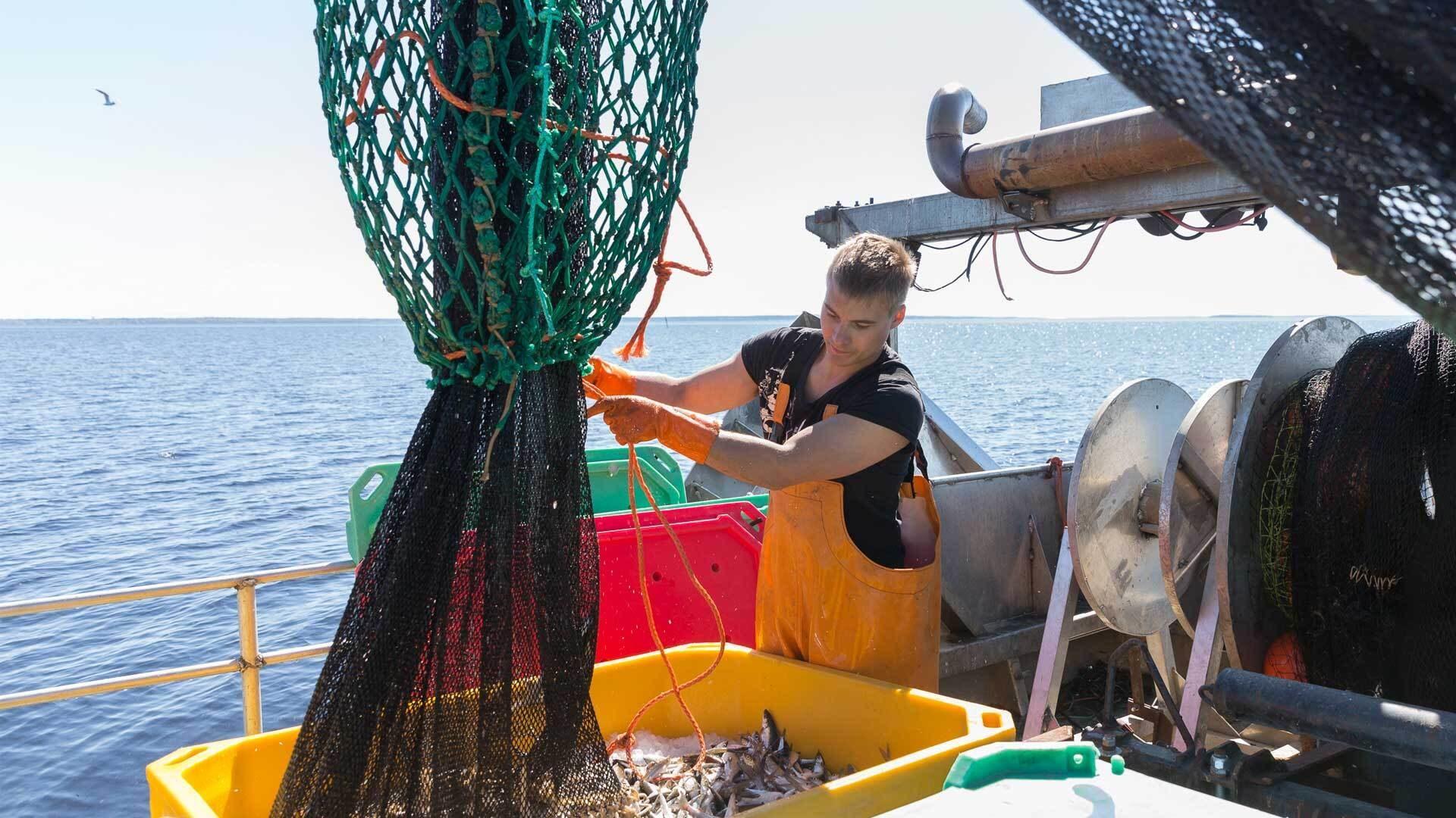 Kalastaja Jarkko Ålander | Kalastajalle kiitos -kampanja, Hätälä