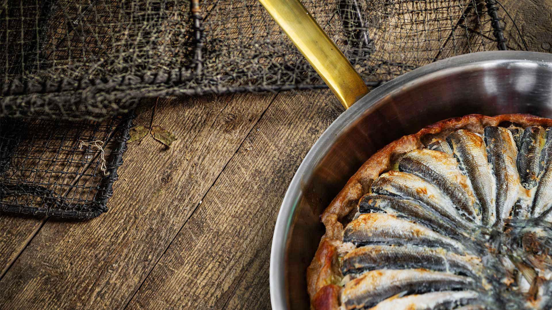 Hätälän kotimaista luonnonkalaa | Muikku | Muikku tarte tatin