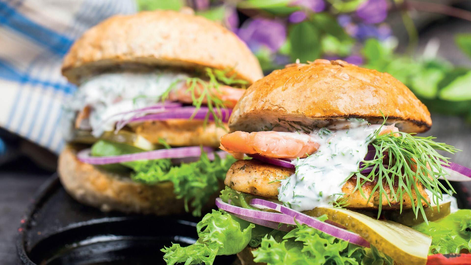 Haukipihvi kalaburger reseptikuva