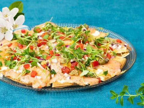graavilohipiirakka flammekueche reseptikuva Ranska-menu