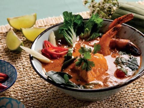 Thaimaalainen kalakeitto reseptikuva | Hätälä